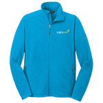 EB225 - C212-Brightpoint Logo - EMB - Ladies Full Zip Microfleece Jacket