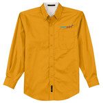 S608 - C212-Brightpoint Logo - EMB - Long Sleeve Easy Care Shirt